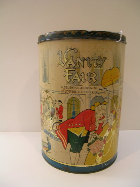 Vanity Fair English Chocolate and Toffee Tin