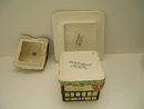 Royal Winton Cottageware Olde England Jampot/Underplate