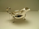 English Sterling Silver Sauce Boat