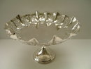English Sterling Silver Tazza
