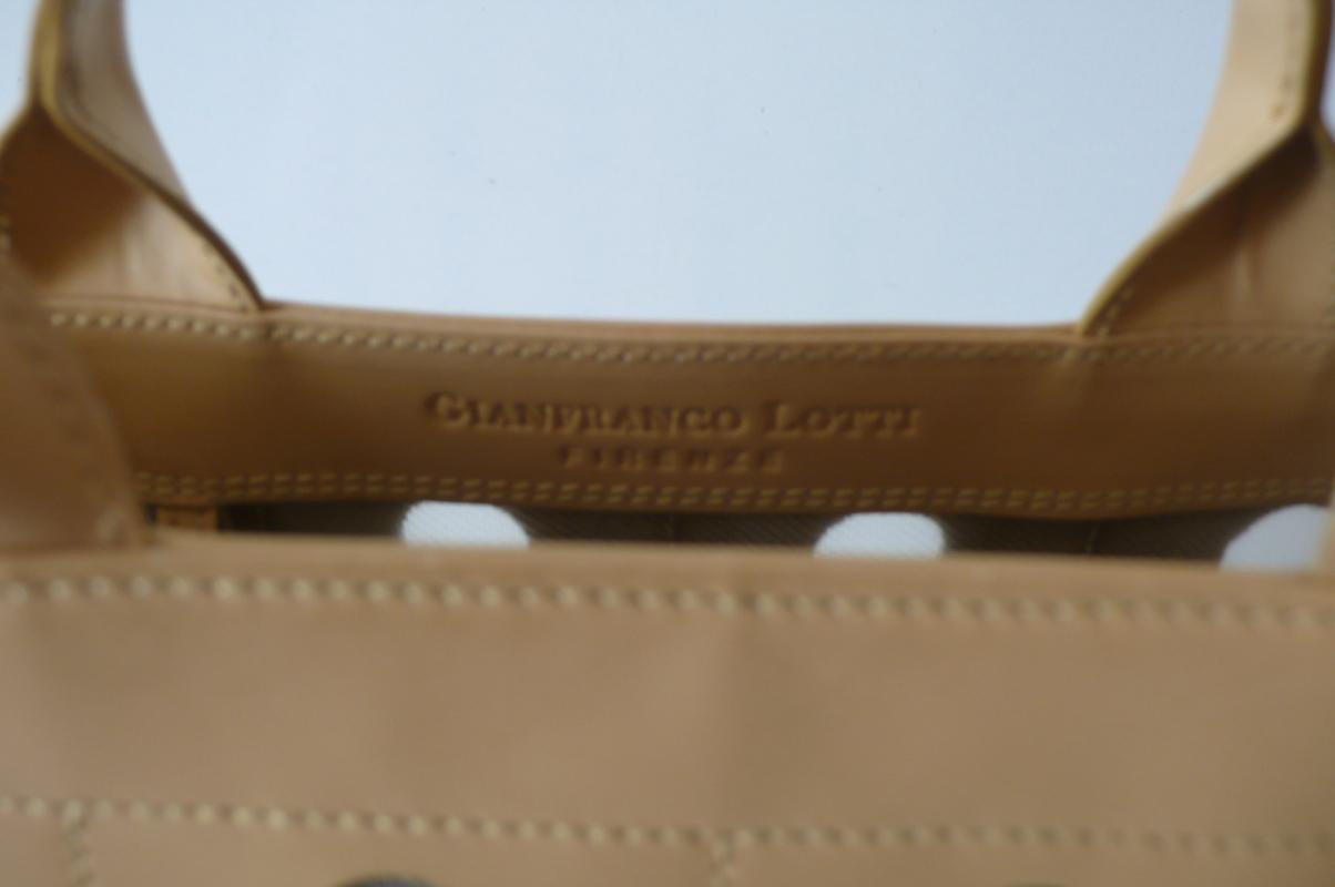 Gianfranco Lotti small leather Tote Bag