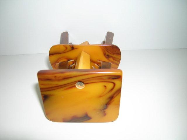 Bakelite Vintage Deco  Butterscotch Fruit
