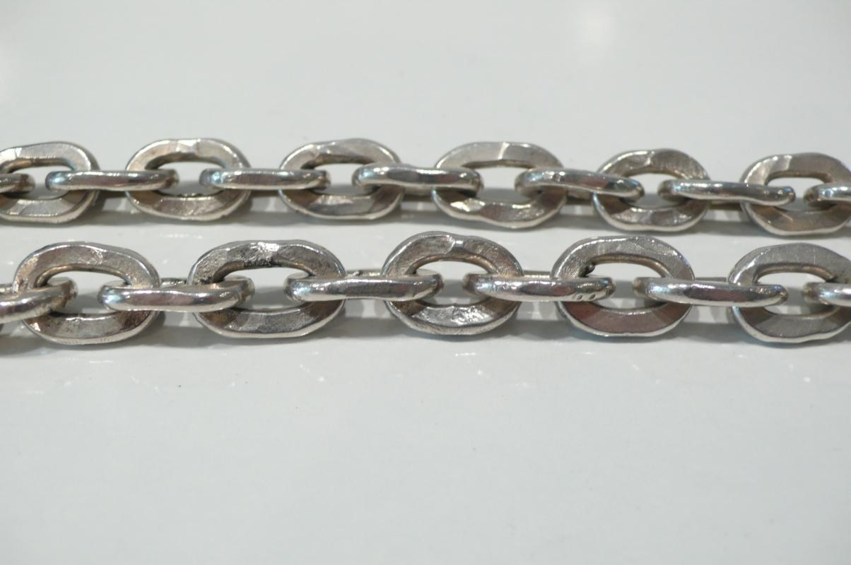 Silver Heavy Link Necklace