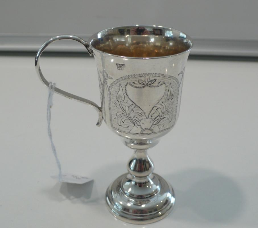 Russian Silver Schnops Cup