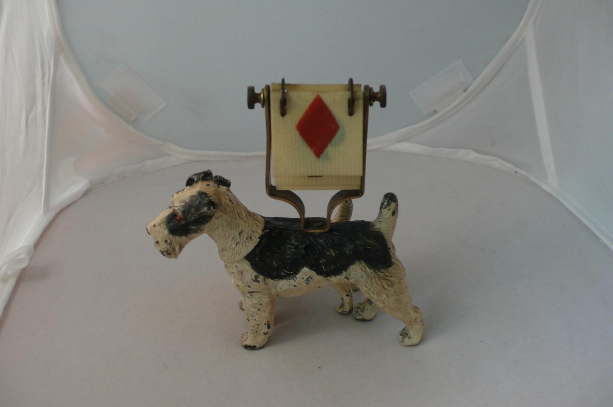 Rare English two dog  trump marker