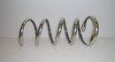 Victorian Sterling Silver Coiled Snake Bracelet