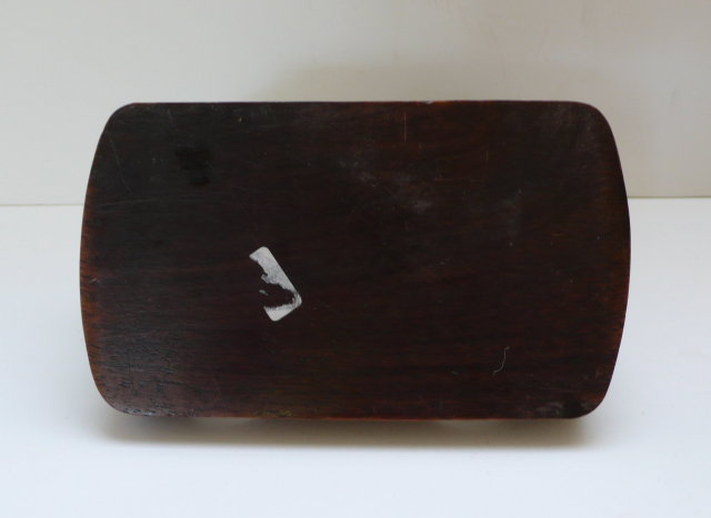 Bakelite & Wood  Ashtray & Match Holder
