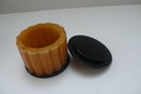 Bakelite Deco Butterscotch Box