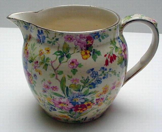 Royal Winton Chintz Floral Feast Jug