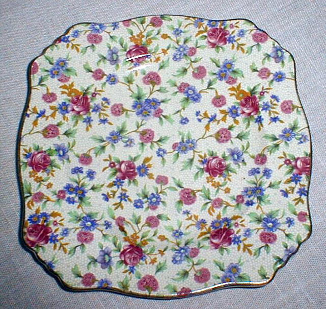 Royal Winton Old Cottage Chintz Plate