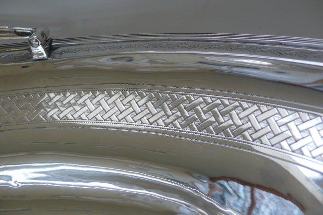 Sterling Silver Georgian Basket