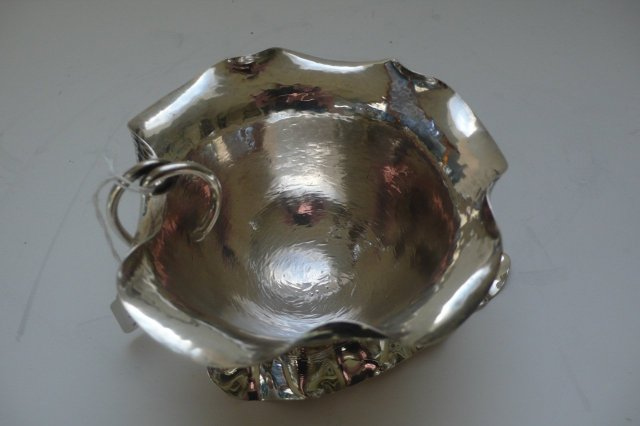 Sterling Silver Art Nouveau Bowl