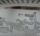 English Antique Sterling Silver Tray
