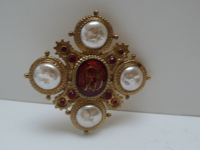 Butler and Wilson Emblem Brooch