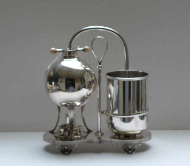 Victorian Silver Plate Tea & Coffee Maker