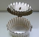 Silver PlateVictorian Oval Engraved Biscuit Box