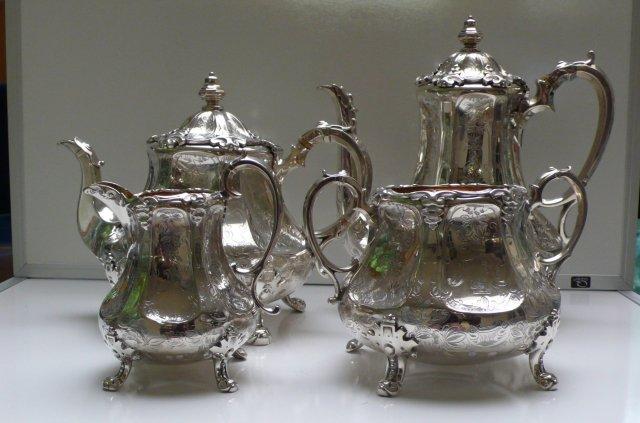 Victorian Sterling Silver Teaset
