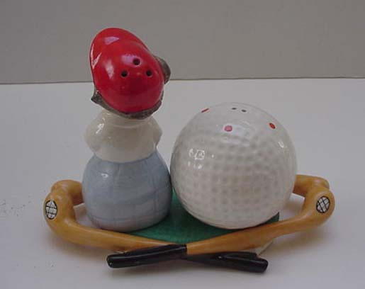 German Goebbels Golf Cruet