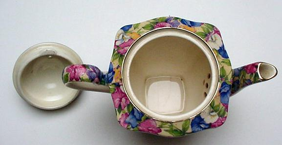 RWC Royal Winton Chintz Sweet Pea Tea for Two