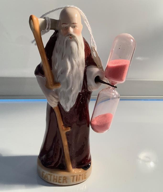 Father Time hour glass timer