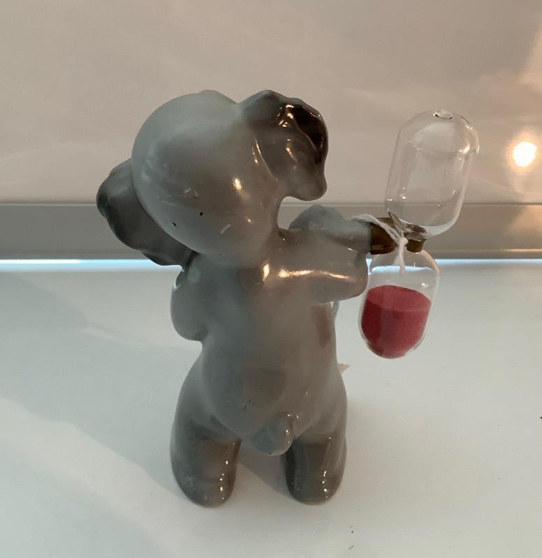 Ceramic Elephant Hour Glass Timer