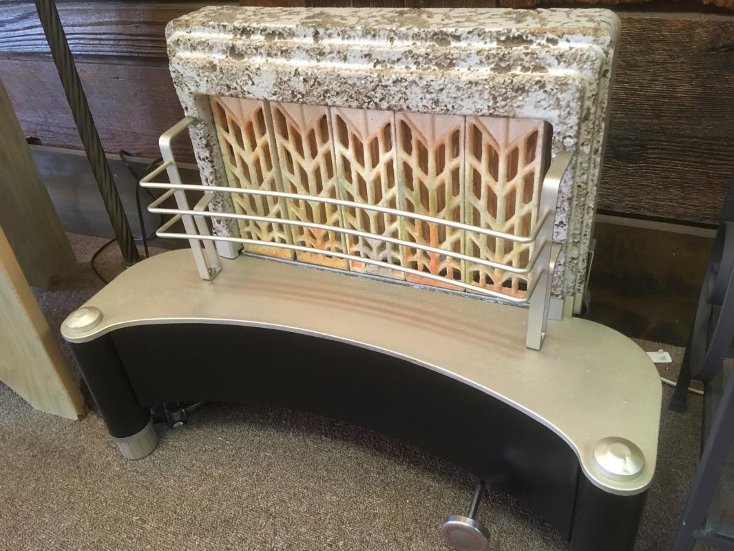 Restored Vintage Deco Style Radiant Gas Heater