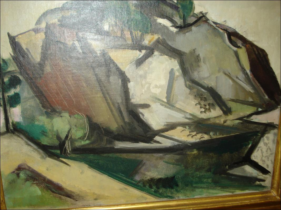 Oil On Board By Manfred Schwartz,