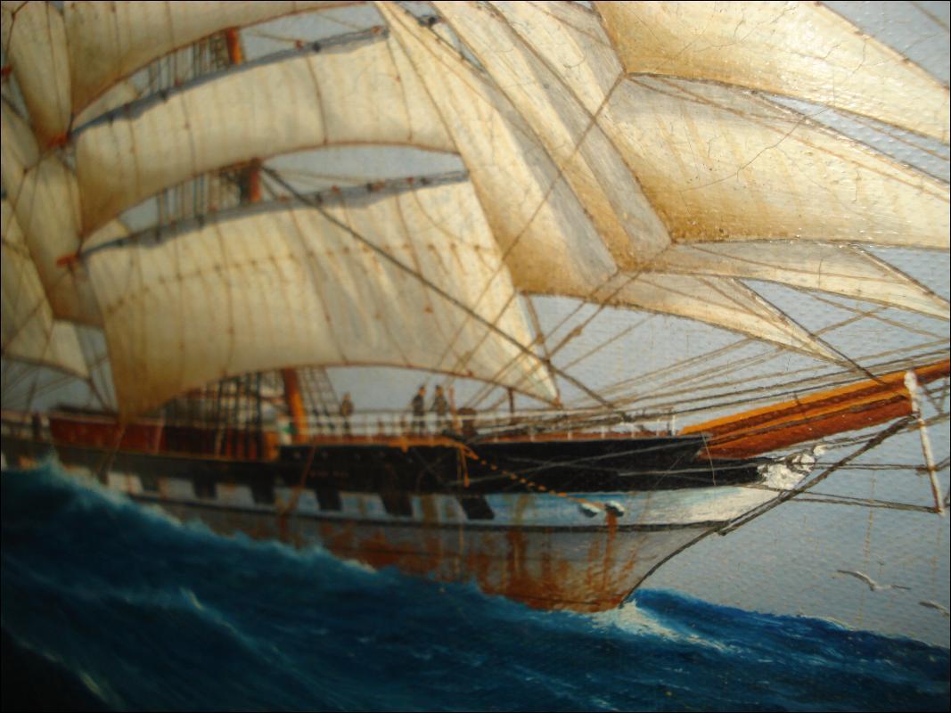 Oil on Canvas Early Twentieth Century,