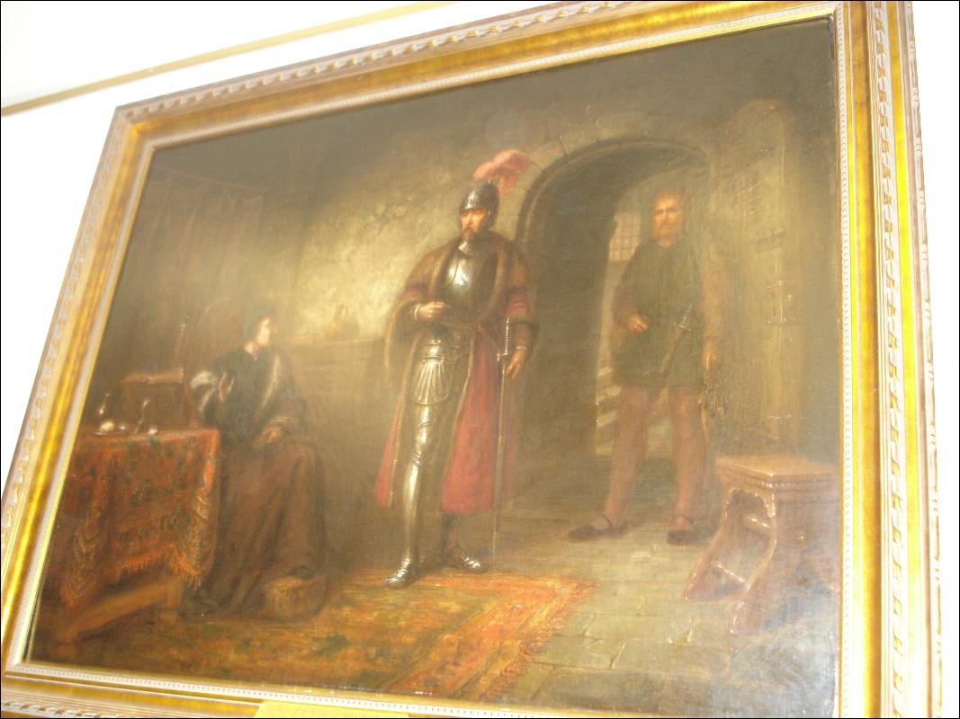 Nineteenth Century Oil on Canvas, Signed Andrew  Sheerboom,
