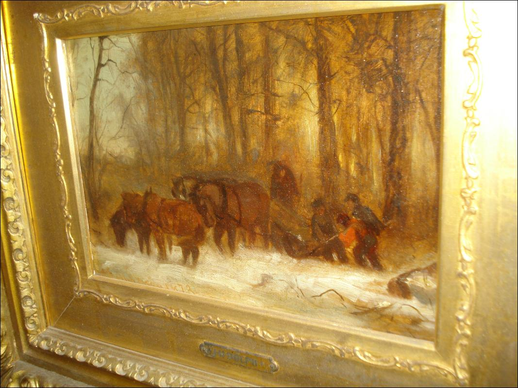 Nineteenth Century Oil On Canvas By John Henry Dolph, American,