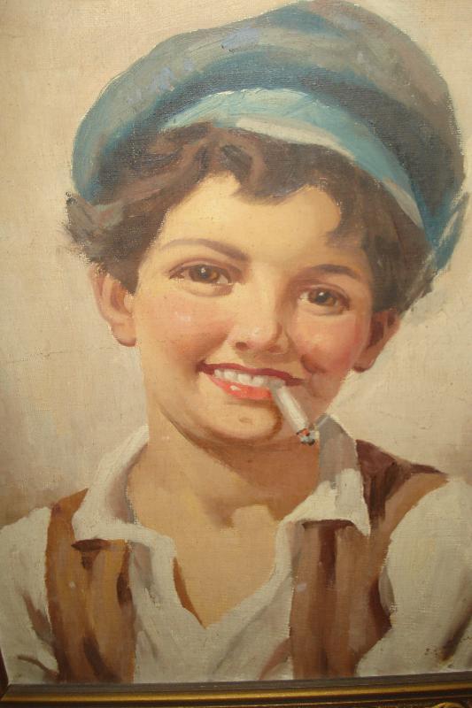 Early Twentieth Century Oil Paintings By Enrico Frattini, Italian,