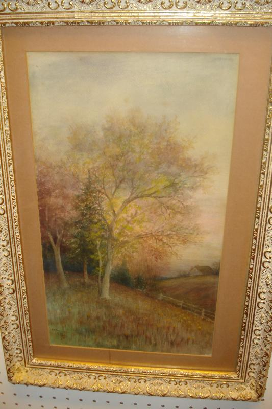 Nineteenth Century Watercolor By Gerard Rutgers Hardenbergh, American,