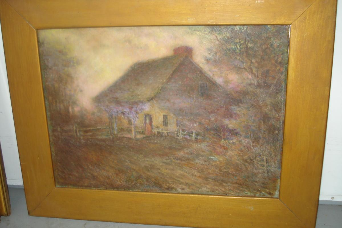 Early Twentieth Century Oil Painting, Unsigned,