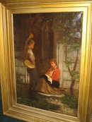 Oil on Canvas by William Penn Morgan