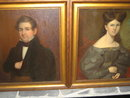 Pair of Early American Portraits