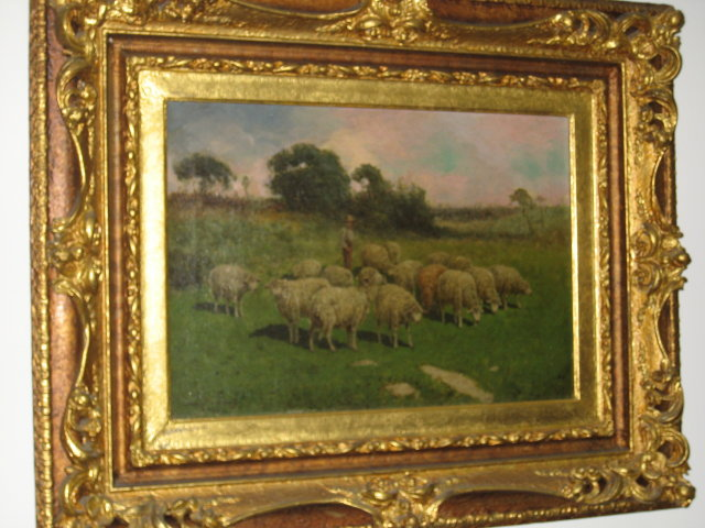 Nineteenth Century Signed Oil on Canvas by Charles T. Phelan