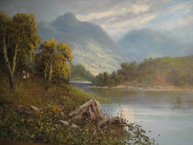 19th Century Oil on Canvas by Frank Hider ,