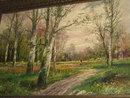 19th Century Oil on Canvas signed Lambert,