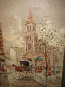 Oil on Canvas signed De Vity,