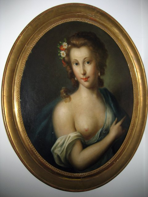 Late 18th Century Oil on Canvas