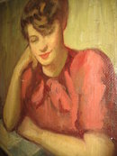 Oil on Canvas by Edith Morehouse,