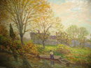 Oil on Canvas by Winfield Scott Clime,