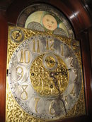 Extremely Rare Antique Thirteen Tube Victorian Hall Clock (Tallcase ,  Longcase,  or Grandfather Clock) of Elliott Styling