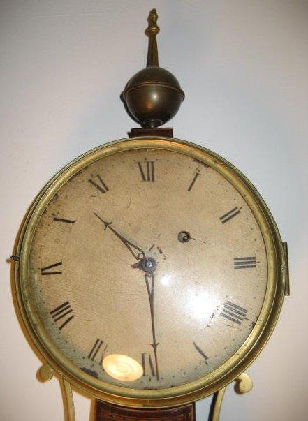 Authentic Simon Willard Banjo Clock in a John Seymour Case