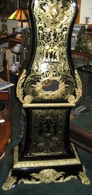 Ornate Mid-Nineteenth Century French Louis XIV Style Boulle Tallcase Clock (Longcase or Grandfather Clock) of the Louis Philippe Period