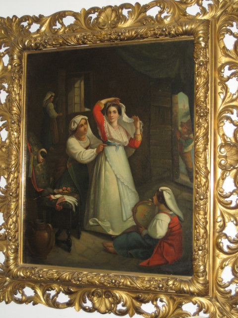 Early Eighteenth Century Oil on Canvas Signed Kupetzki [Kupelzki, Kupecky, Kupezkey, Kepetzky, Kupecki],