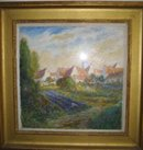 Oil on Canvas By Alfred Zwiebel,