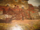 Large Late Nineteenth Century Oil on Canvas by James Charles ,