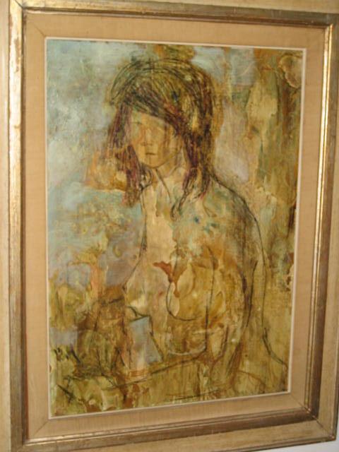 Oil on Board by Lazzaro Donati,