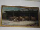 Nineteenth Century Oil on Canvas Unsigned of Winslow Homer Quality,